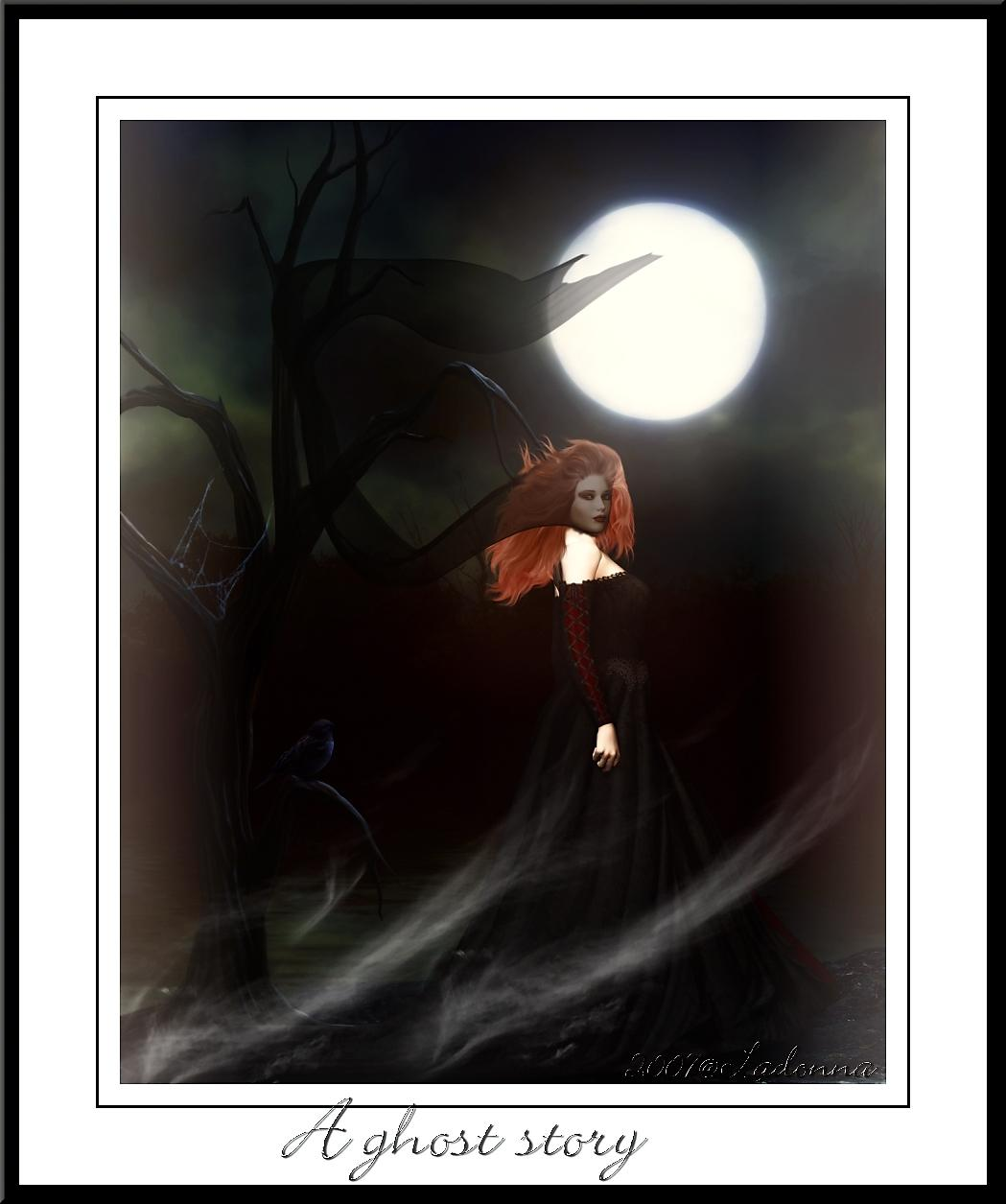 A ghost story by Ladonna