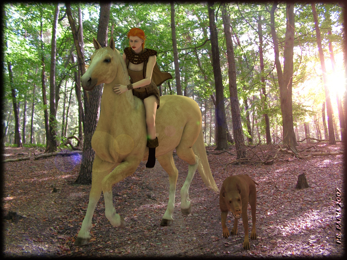The Horse, the Elf and the Dog