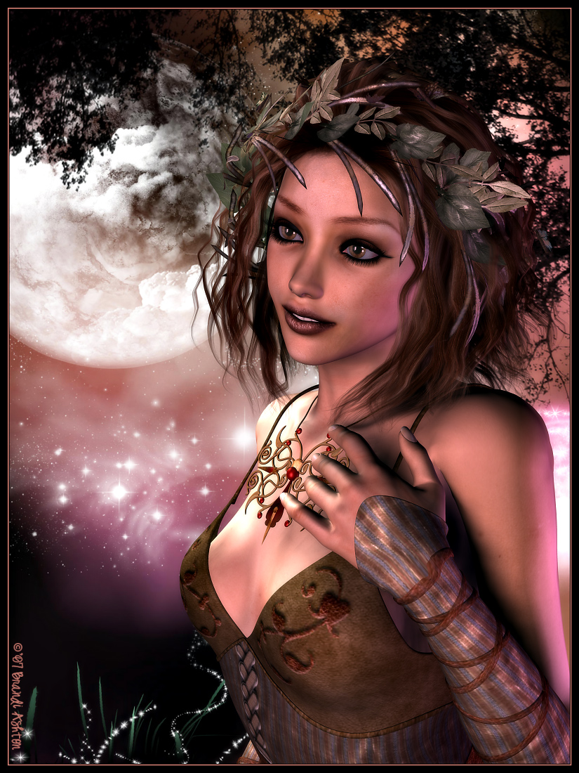 Moonlit Maiden (for Boris0317)