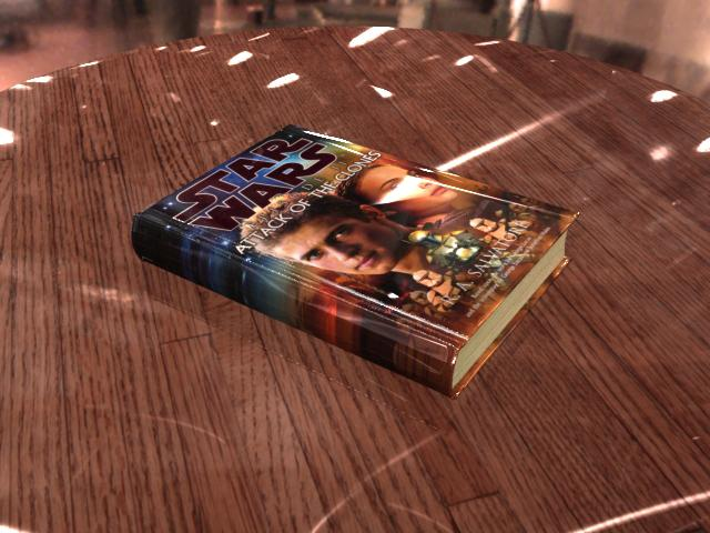 HDRI Test: Book