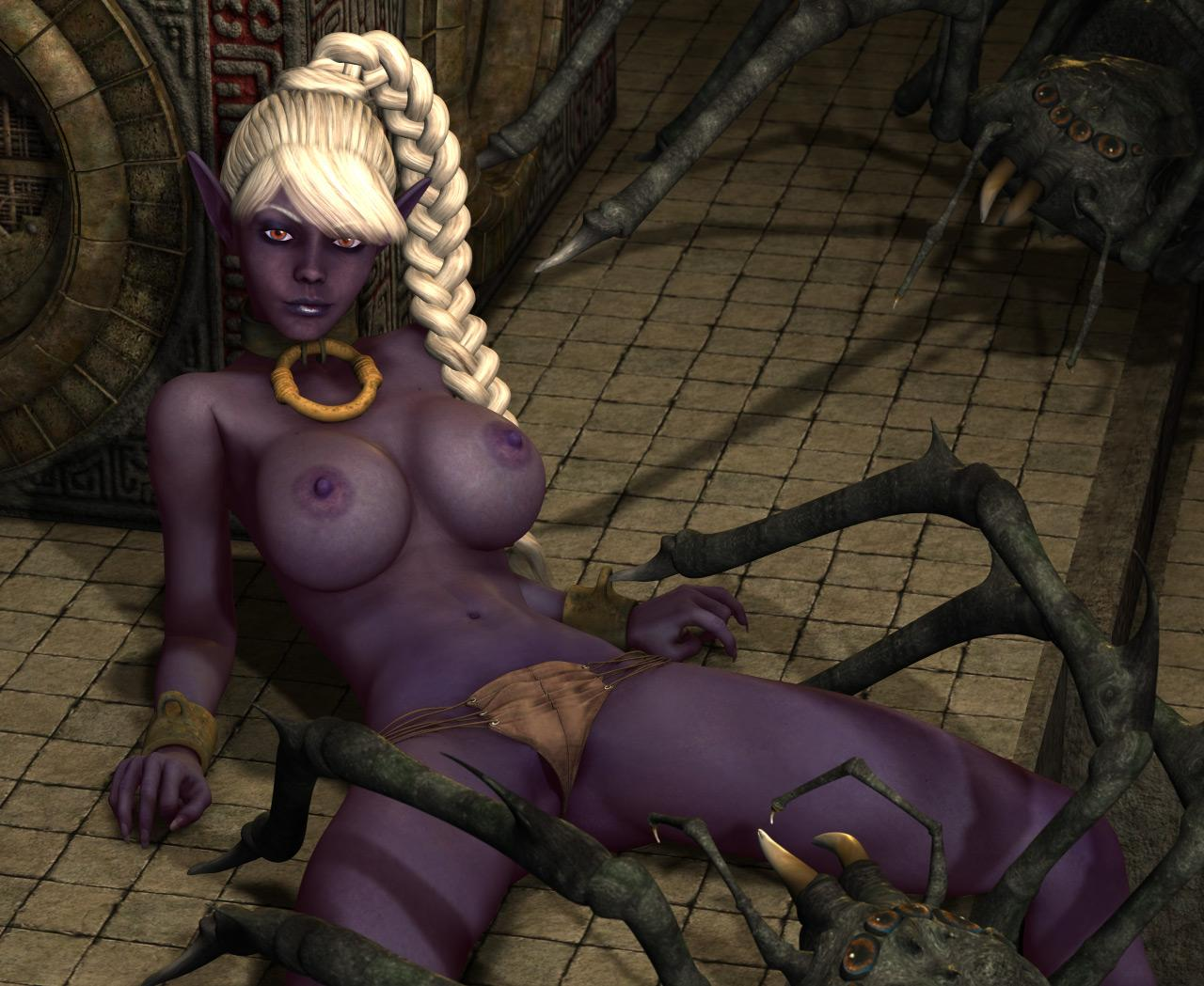 Busty Elves In Peril: Curious Interruptions [LBA]