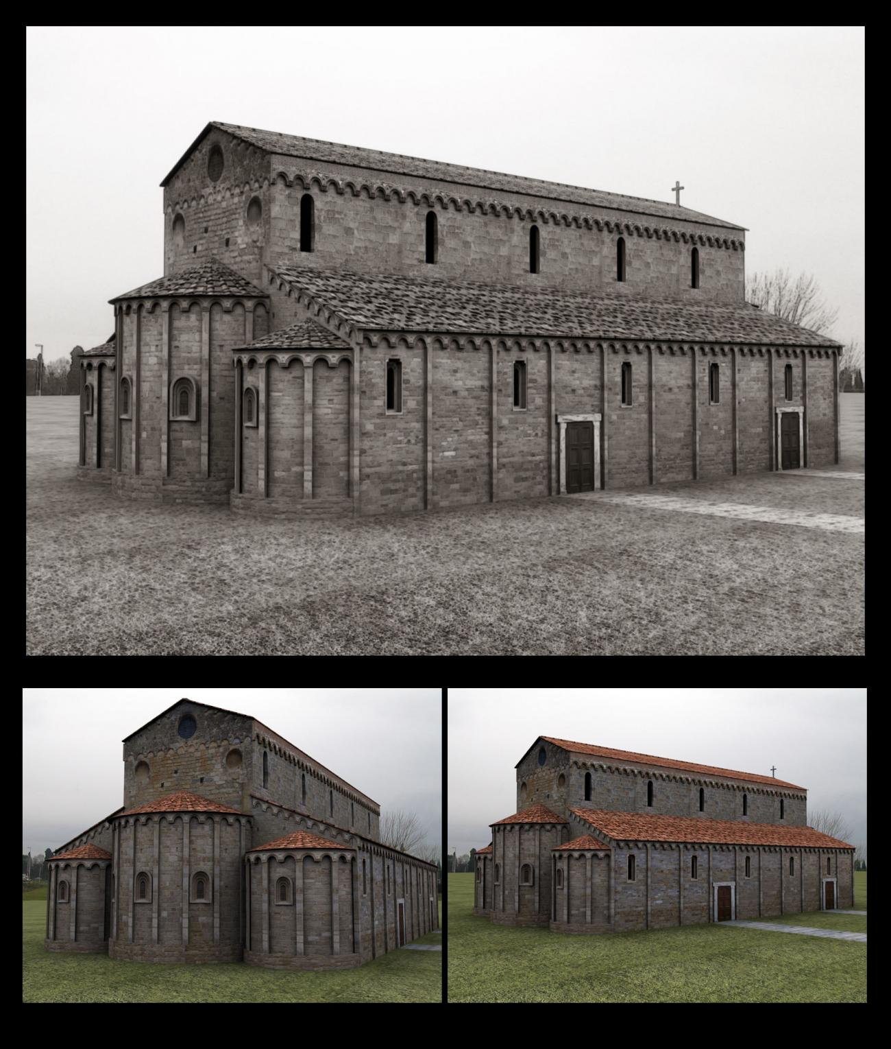 Maybe the oldest church in Italy (for 3d Classics)