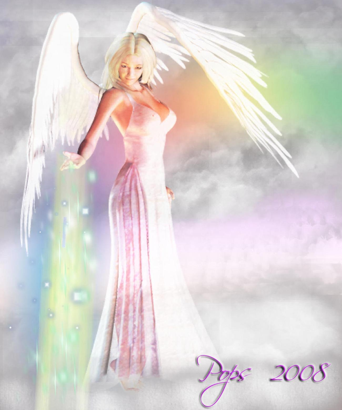 Healing Angel for Rainbows and Ladona