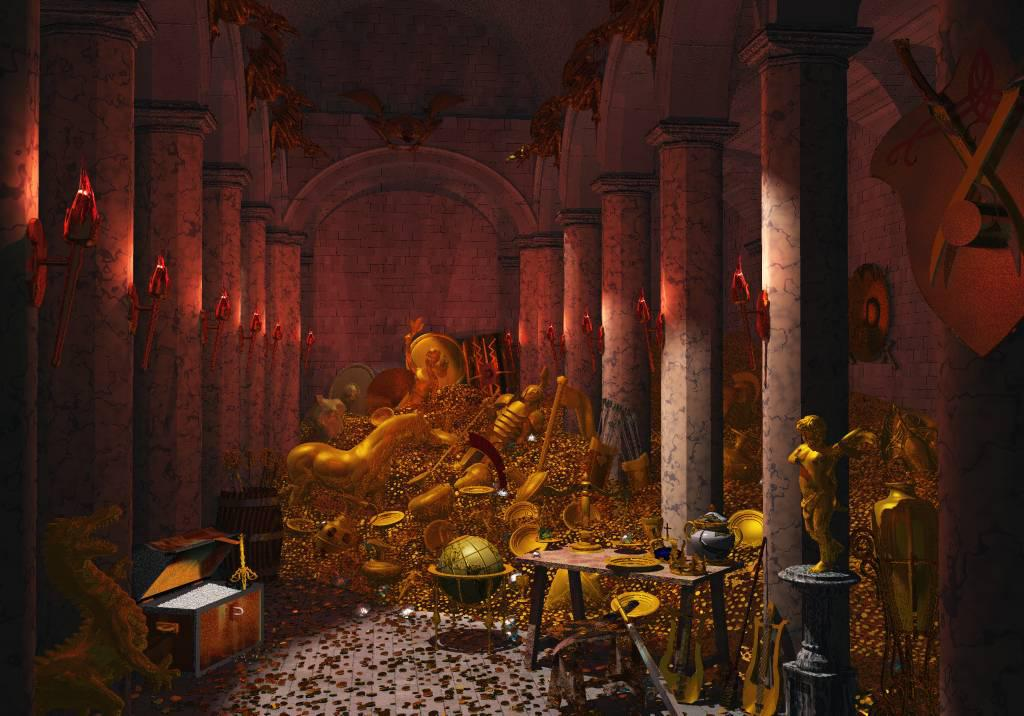 The treasure in the crypt / Hidden Temple V