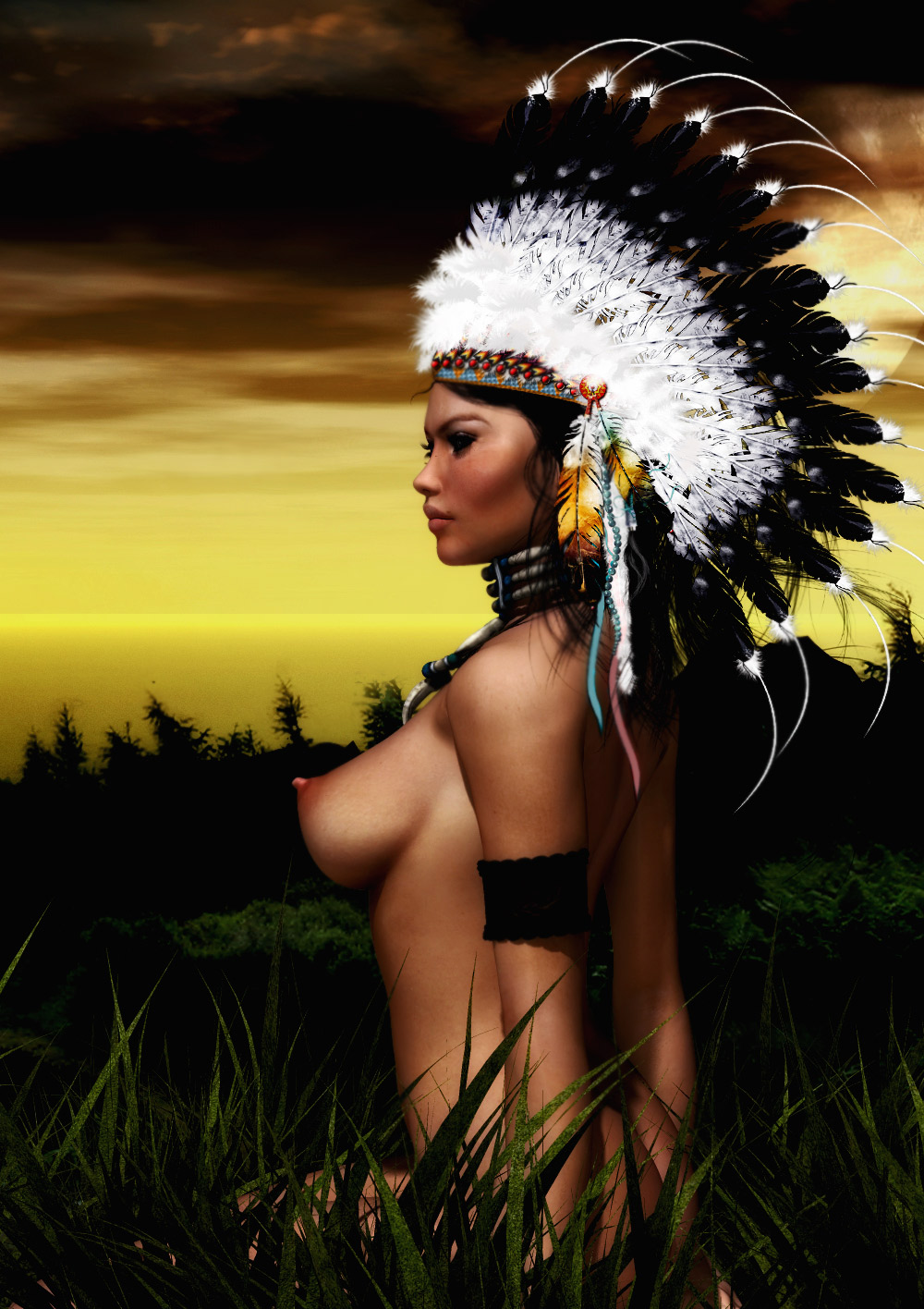 Fat native american naked 4