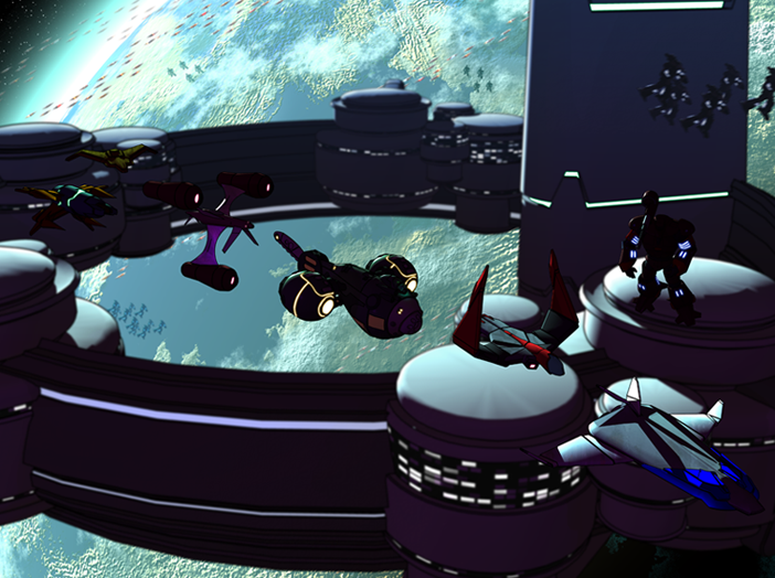 Elrian Space Station