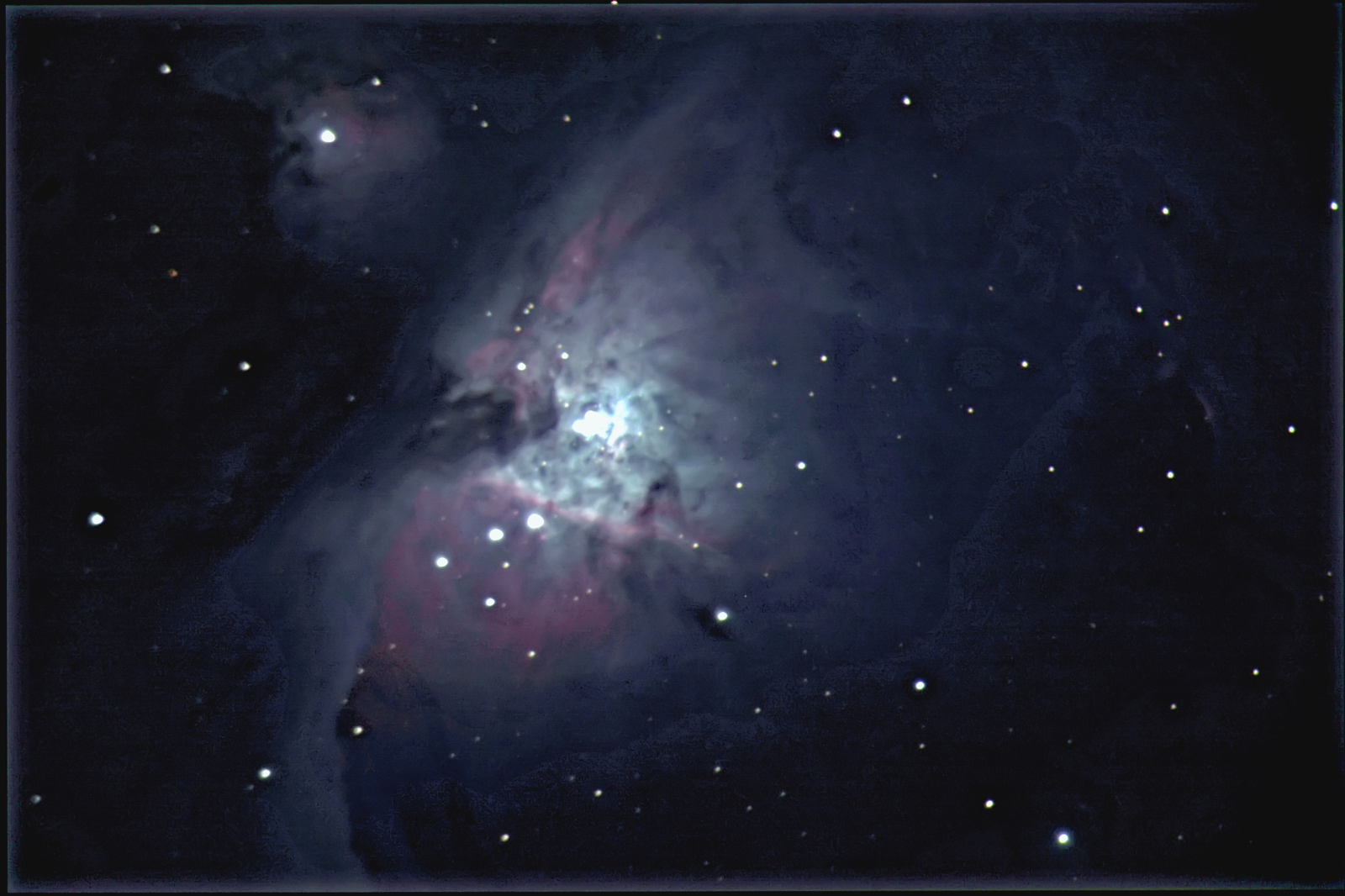 M42 and M43 with Canon20D 2500 fl