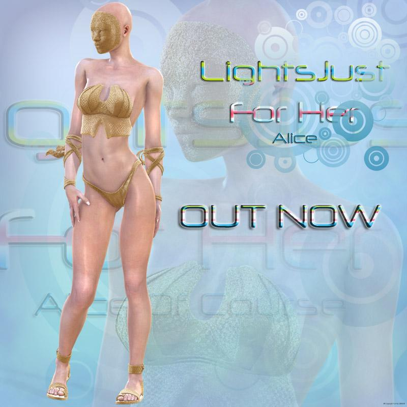 !OUTNOW! !LightsJustForHer!Alice