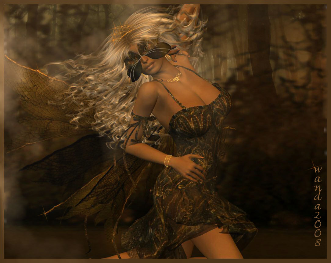 Forest Fae Moment