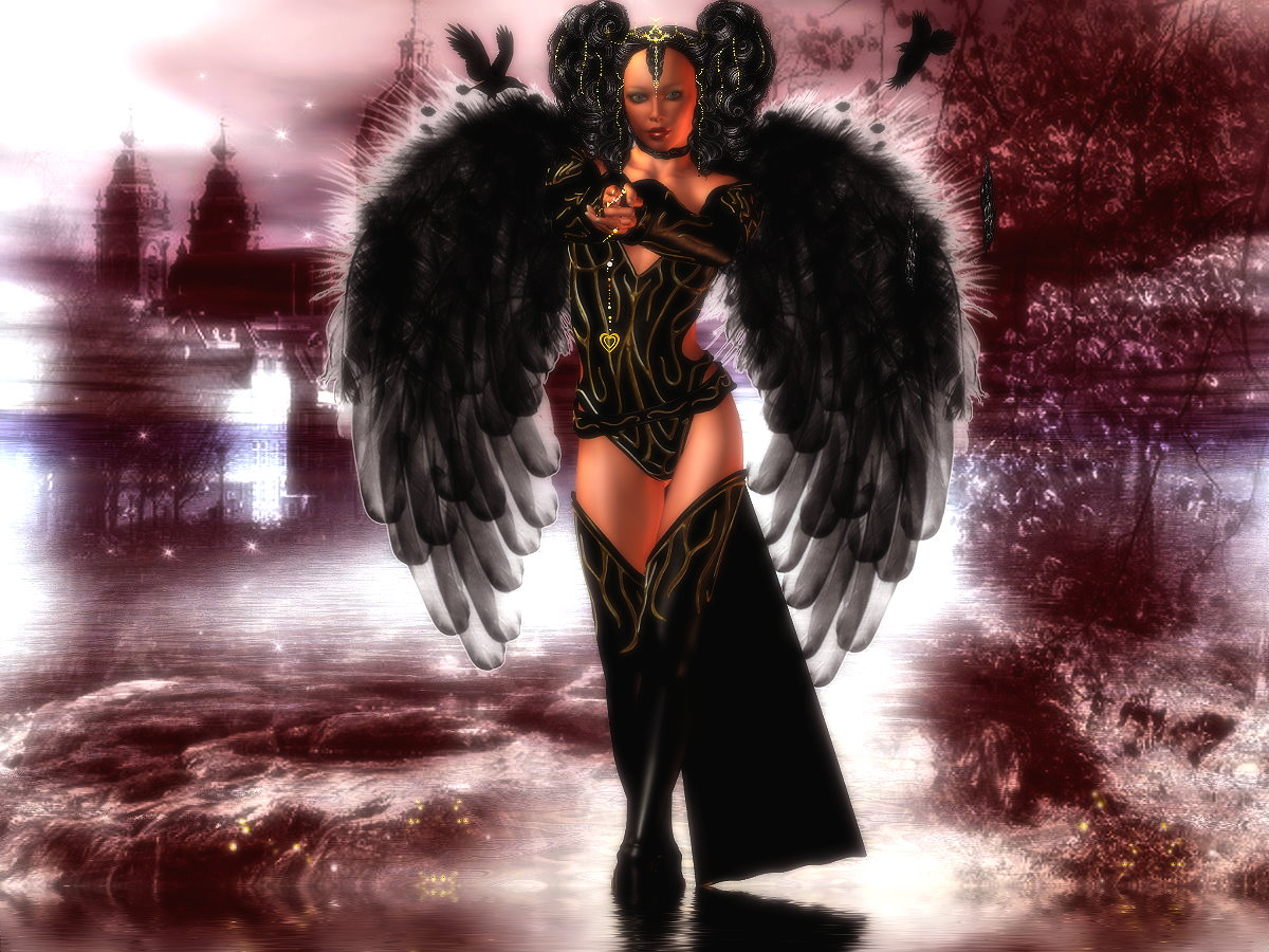 Angel of the tempation**
