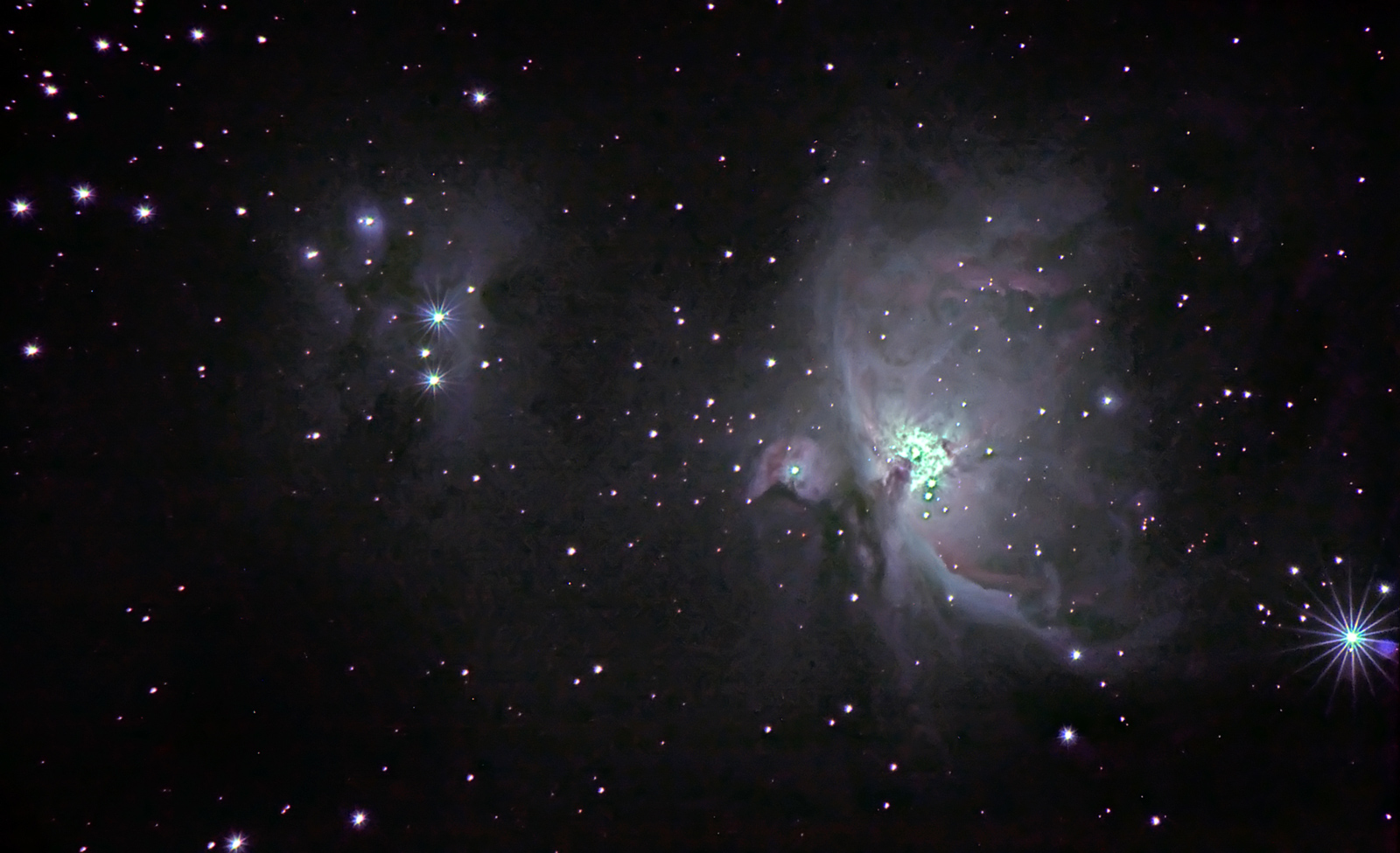 Orion's Sword with FFT processing.