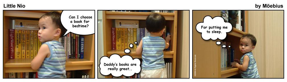 Little Nio Picks a Book