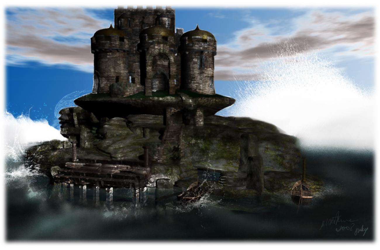 Reveries of the Solitary Castle