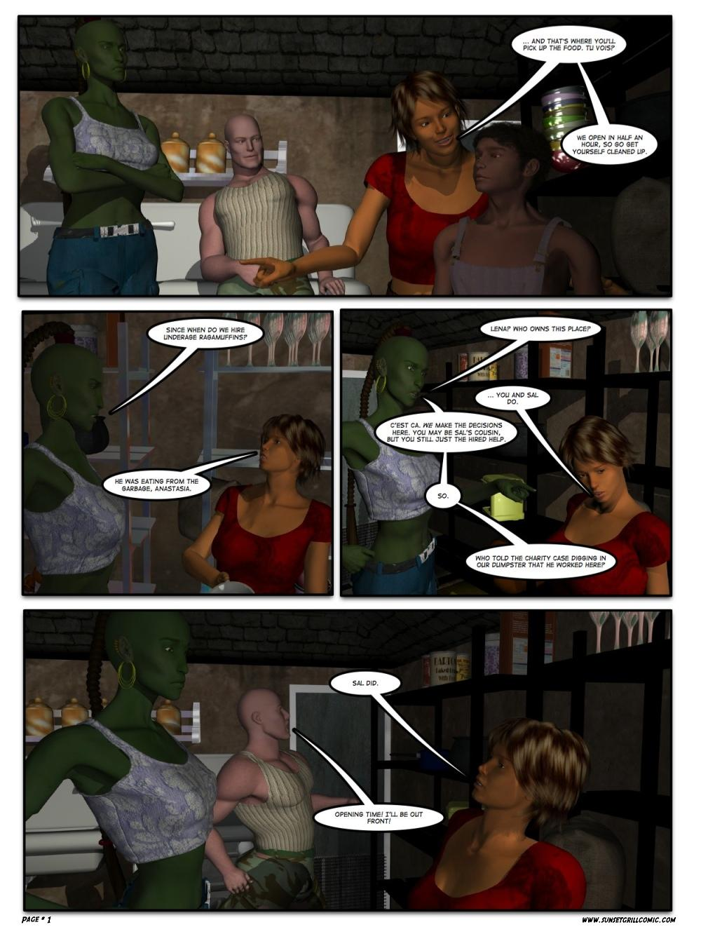 Sunset Grill Page 1
