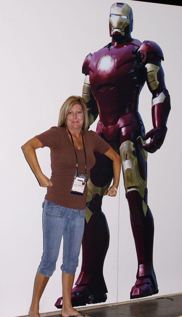 Stacey vs. IronMan