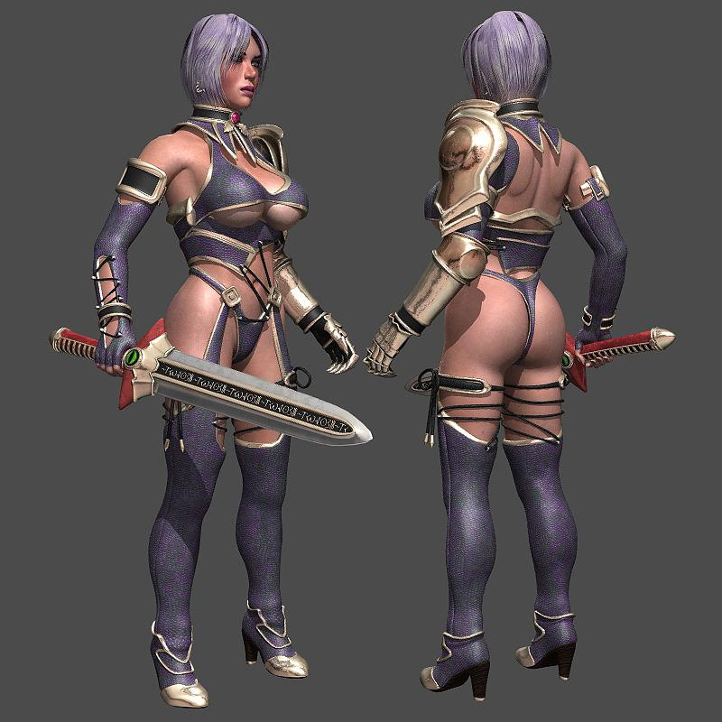 Ivy from Soul Calibur 4