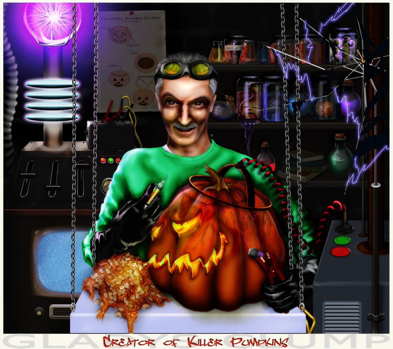 Creator of Killer Pumpkins