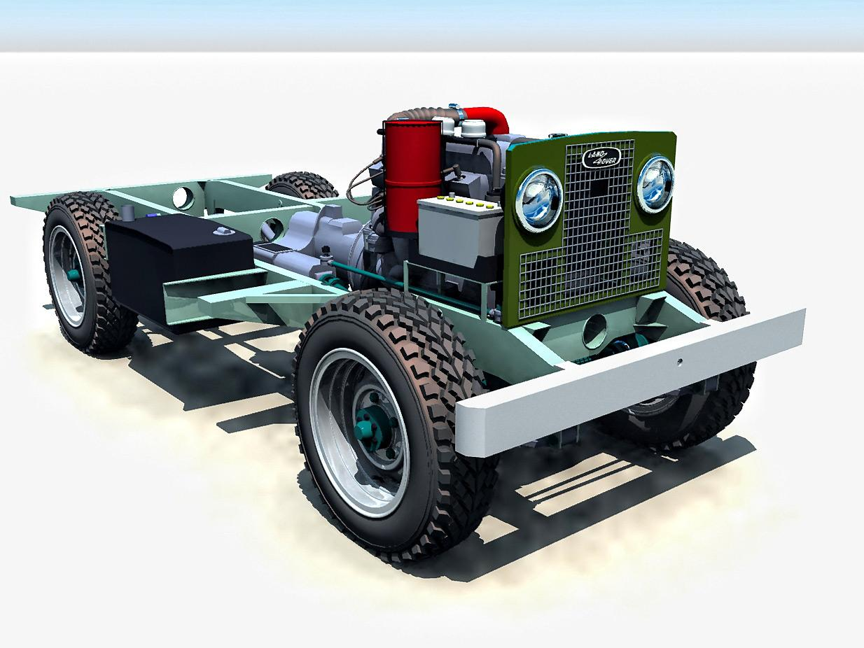 Landrover WIP by Bigt