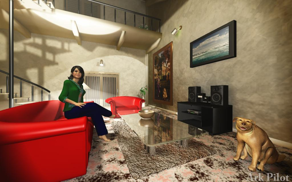 A Living Room by Ark_Pilot