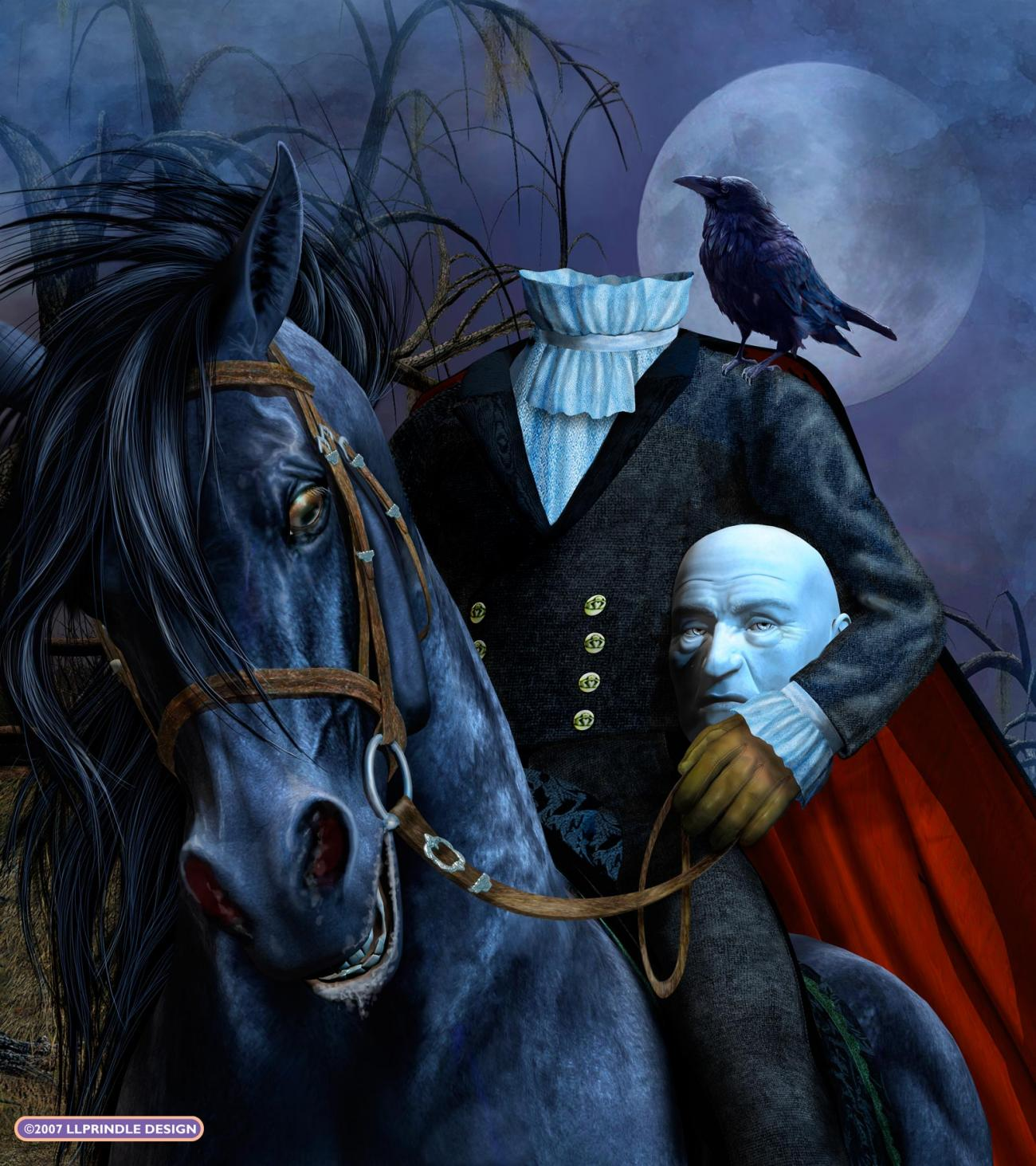 Happy Halloween! (The Headless Horseman)