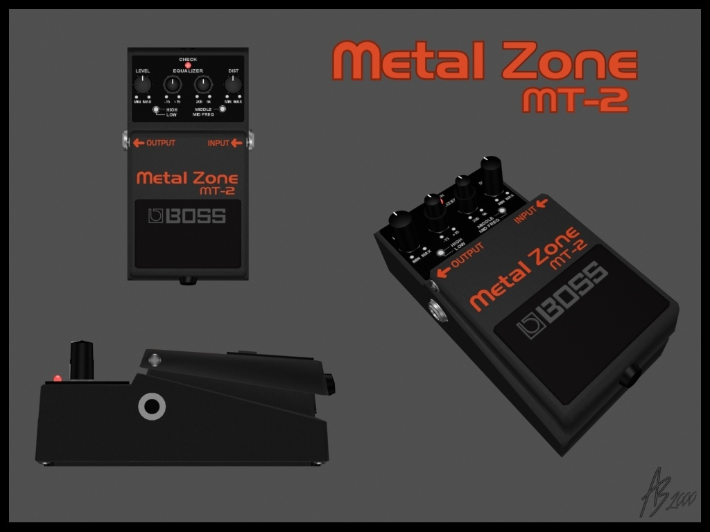 Metal Zone MT-2
