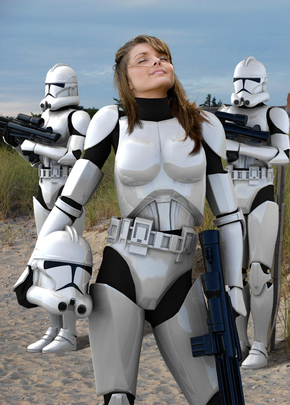 Female Clone Troopers