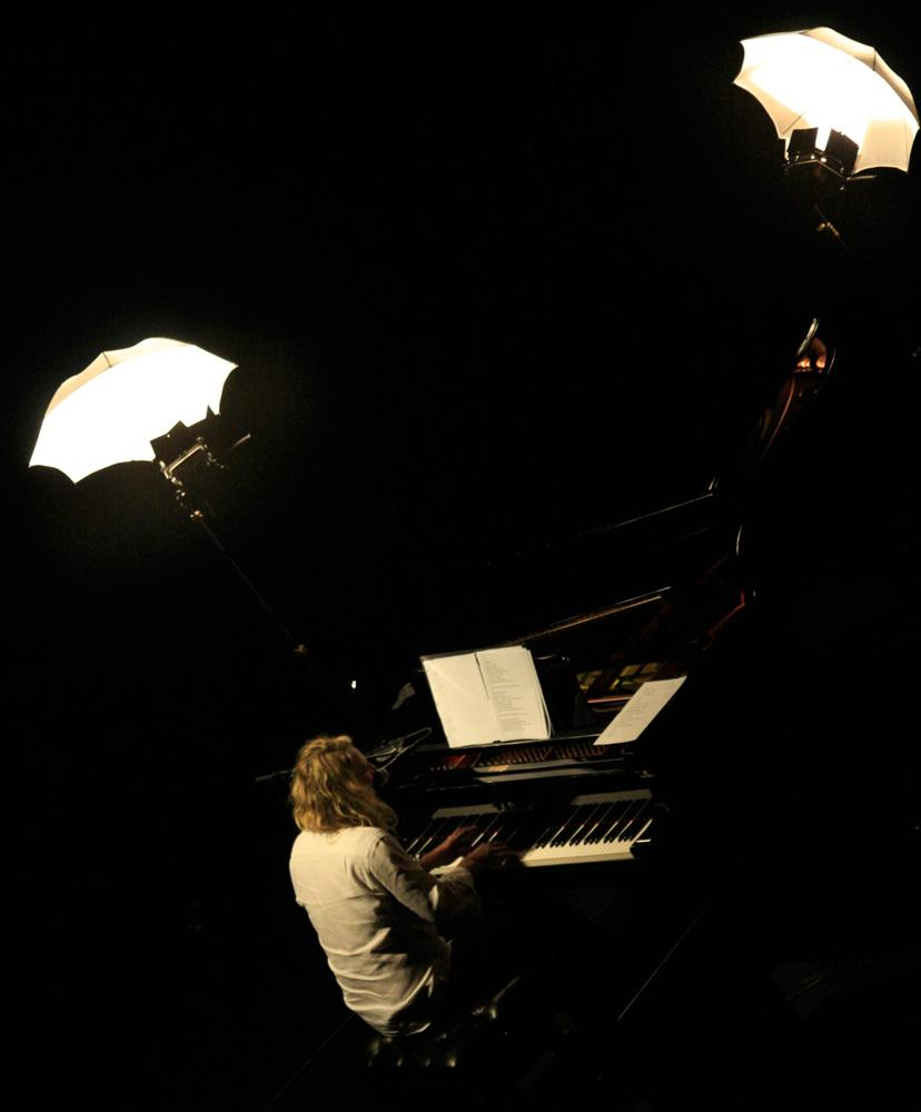 Ed and the Piano