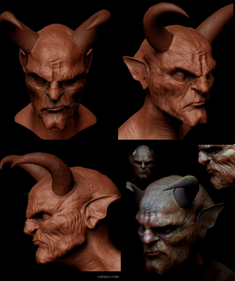 Caldemon,,~~* by calum5 ZBrush Creatures