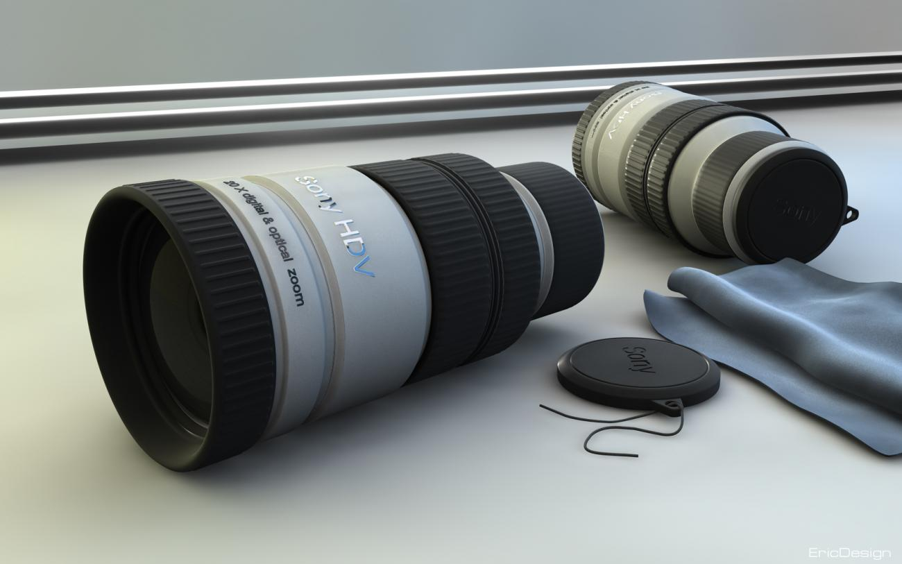 focal lens final render