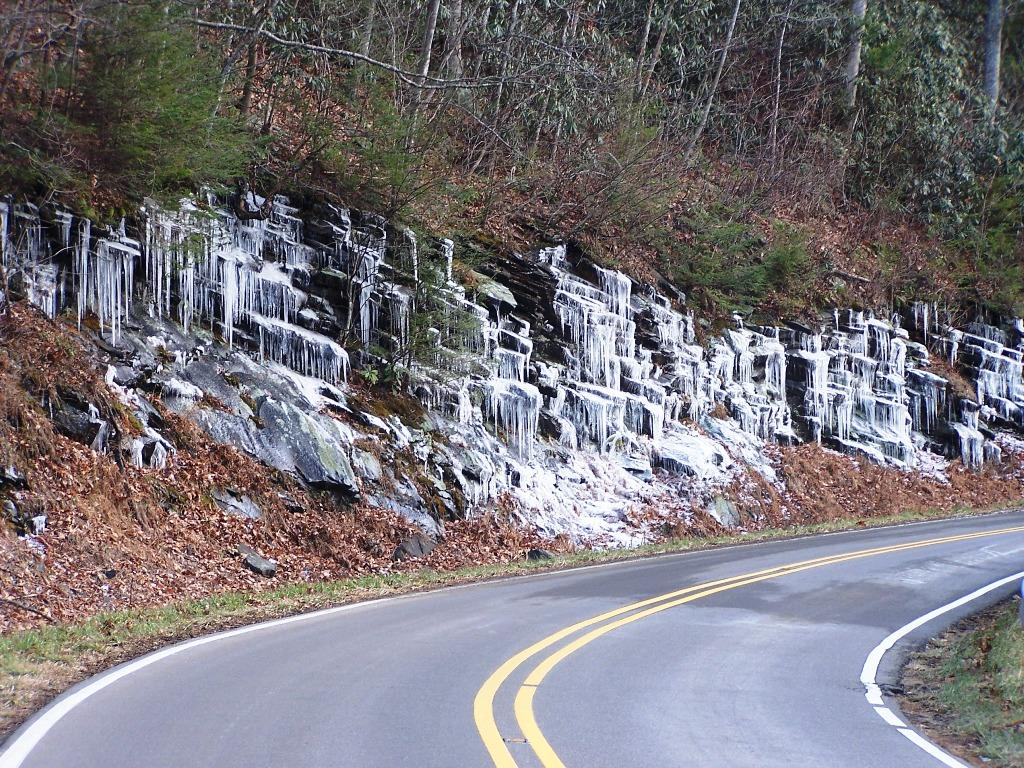 Wall of Icicles