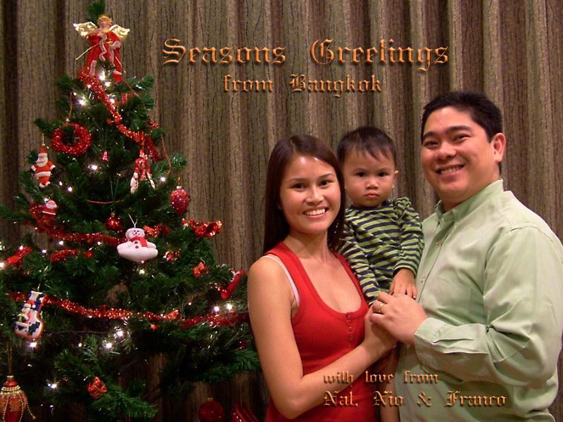 Seasons Greetings from Bangkok