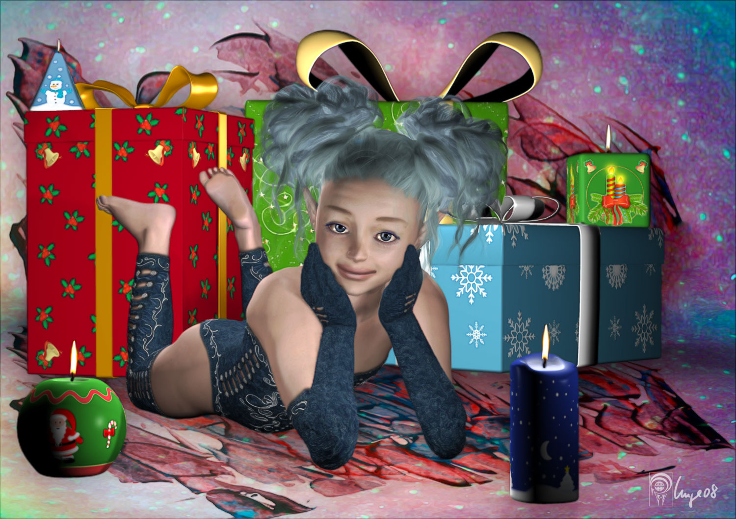 Season of candles ~for EyesBlueDesign~