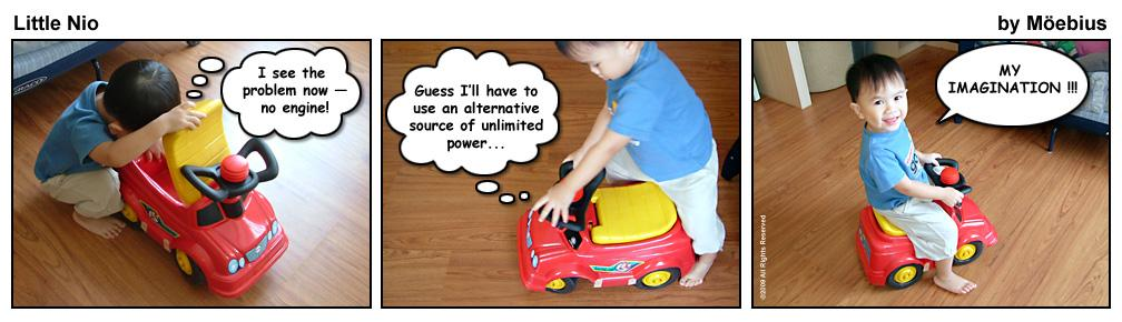 Little Nio and the Toy Car
