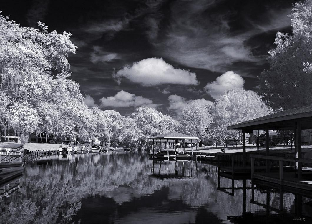 Along The Lazy River - IR
