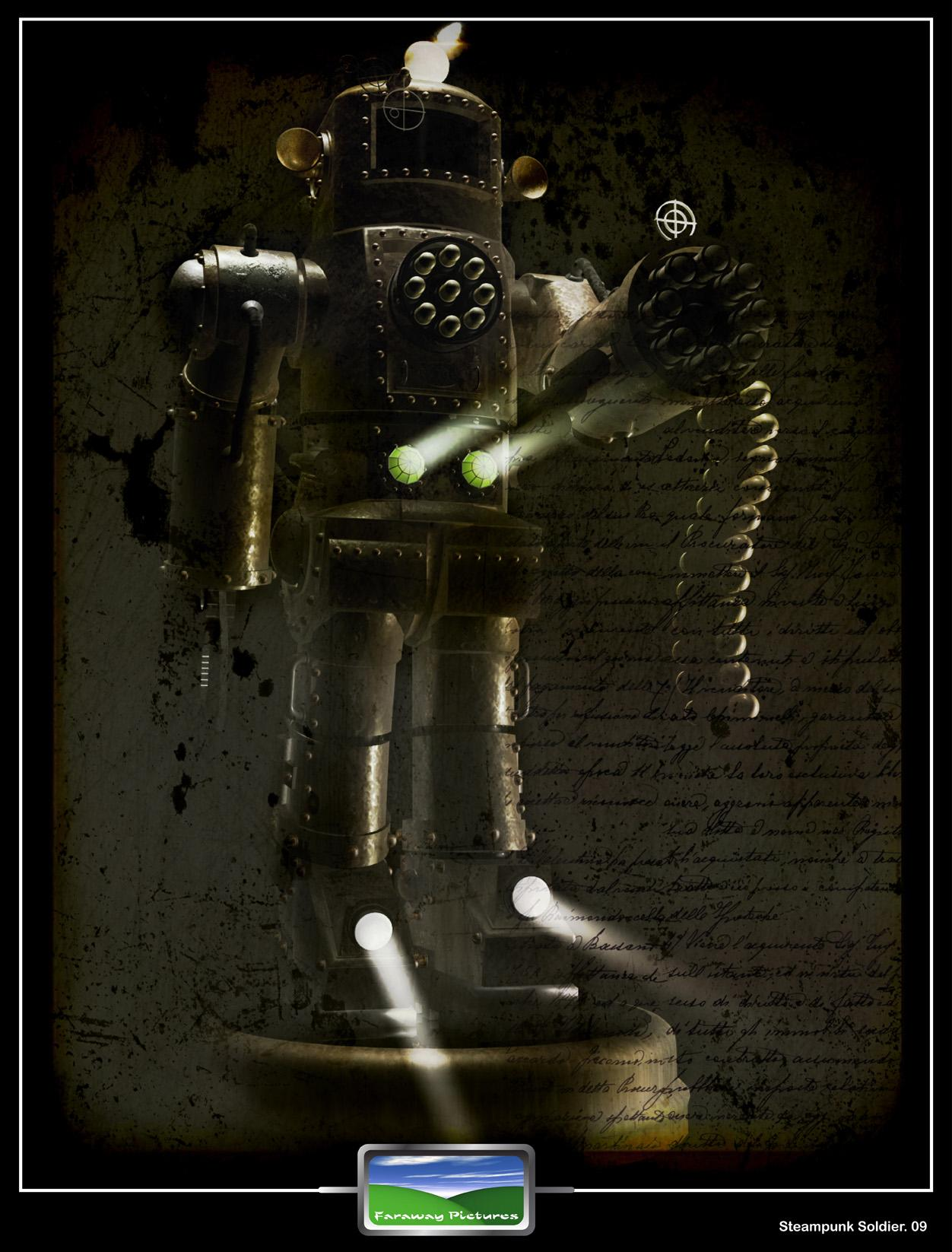 Steampunk Soldier (Textured)