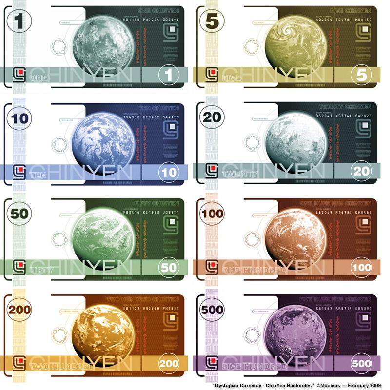 Dystopian Currency