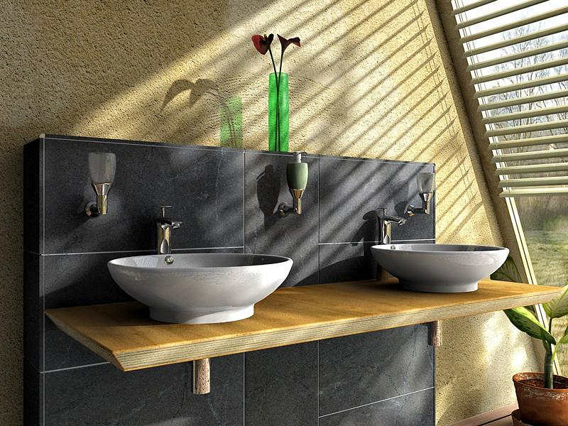 Bathroom by andywoogy cinema 4d architecture for Cinema 4d architecture
