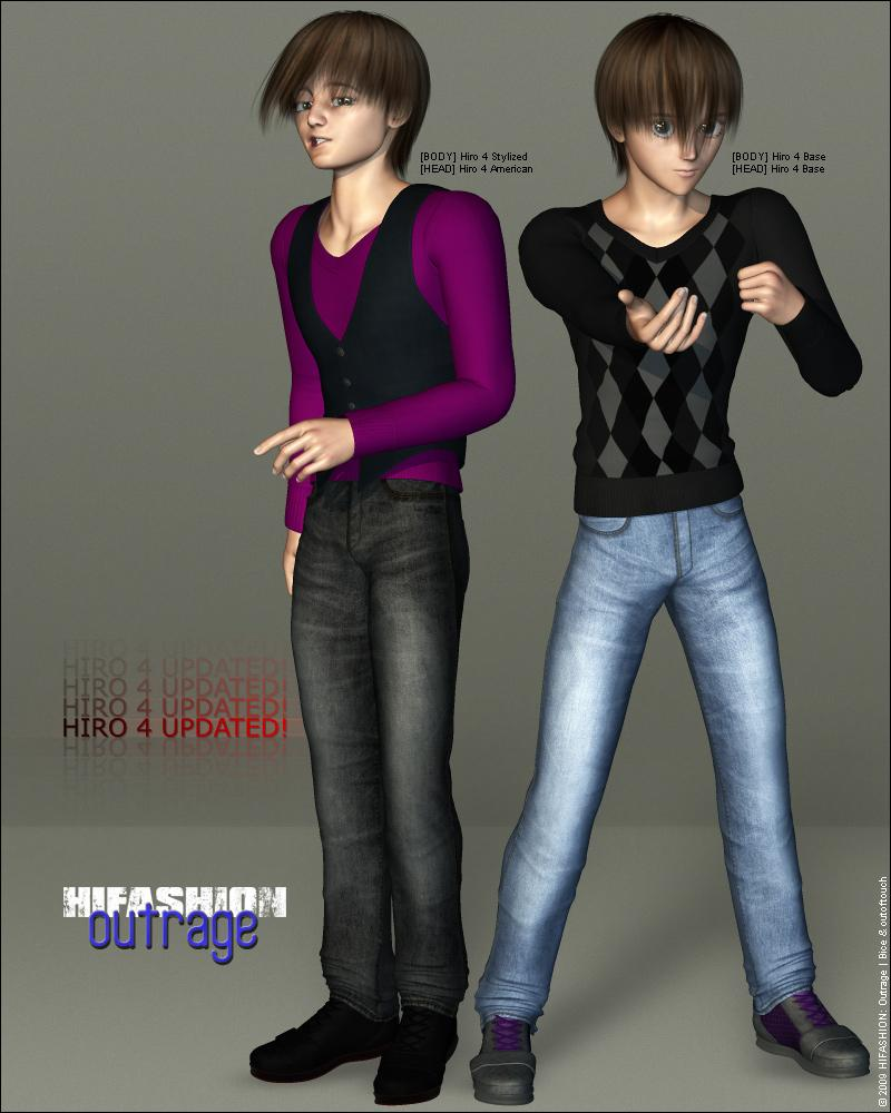 [HIGHFASHION Update] by outoftouch