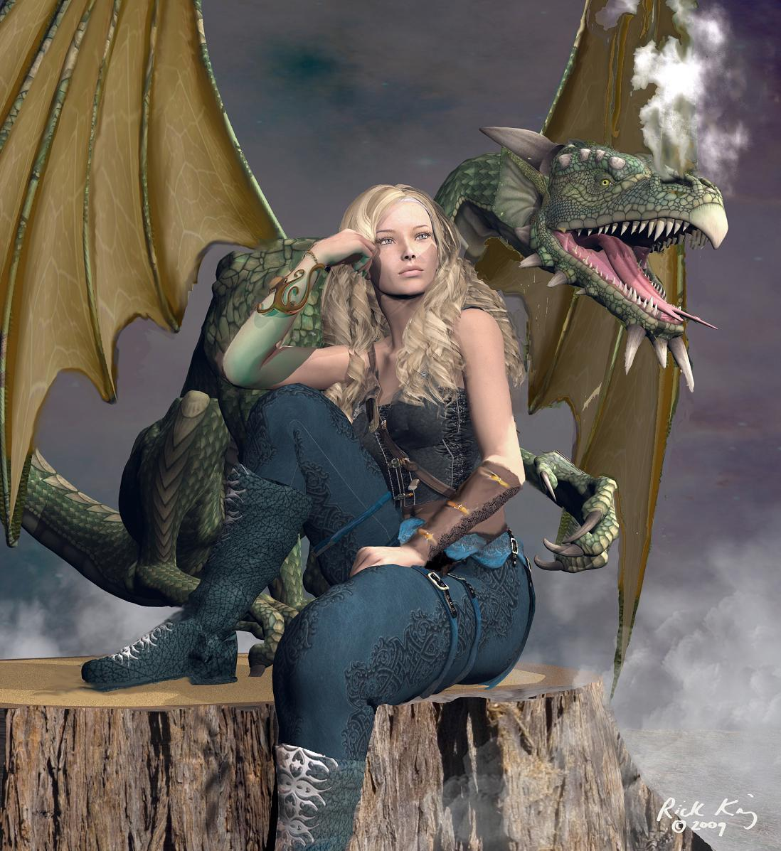 The Dragonwoman