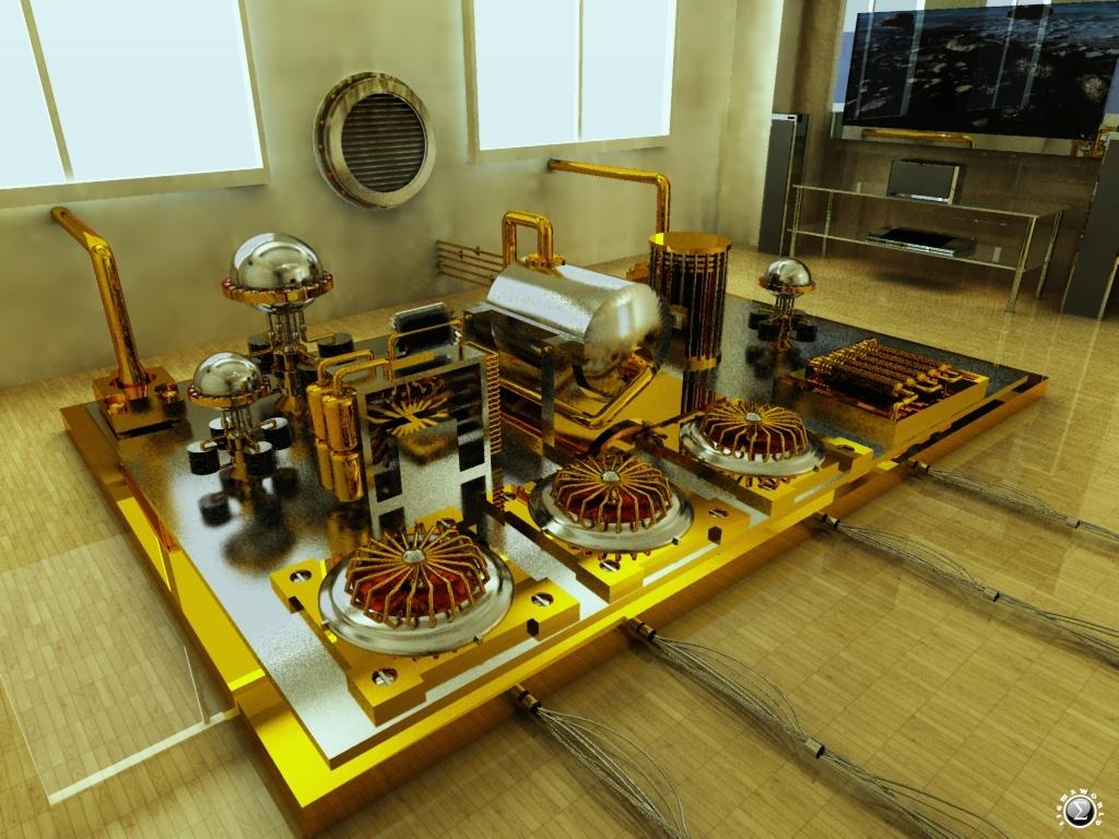 My own nuclear fusion reactor power plant