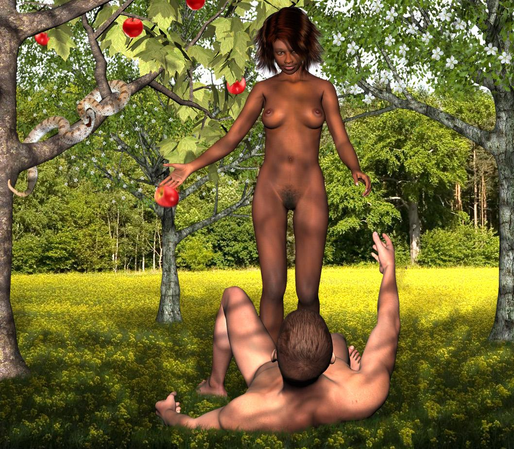 Adam and Eve- we stay here-