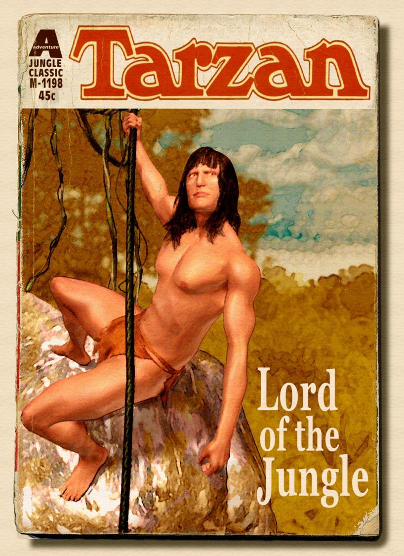 Tarzan Paperback Cover Art and Design