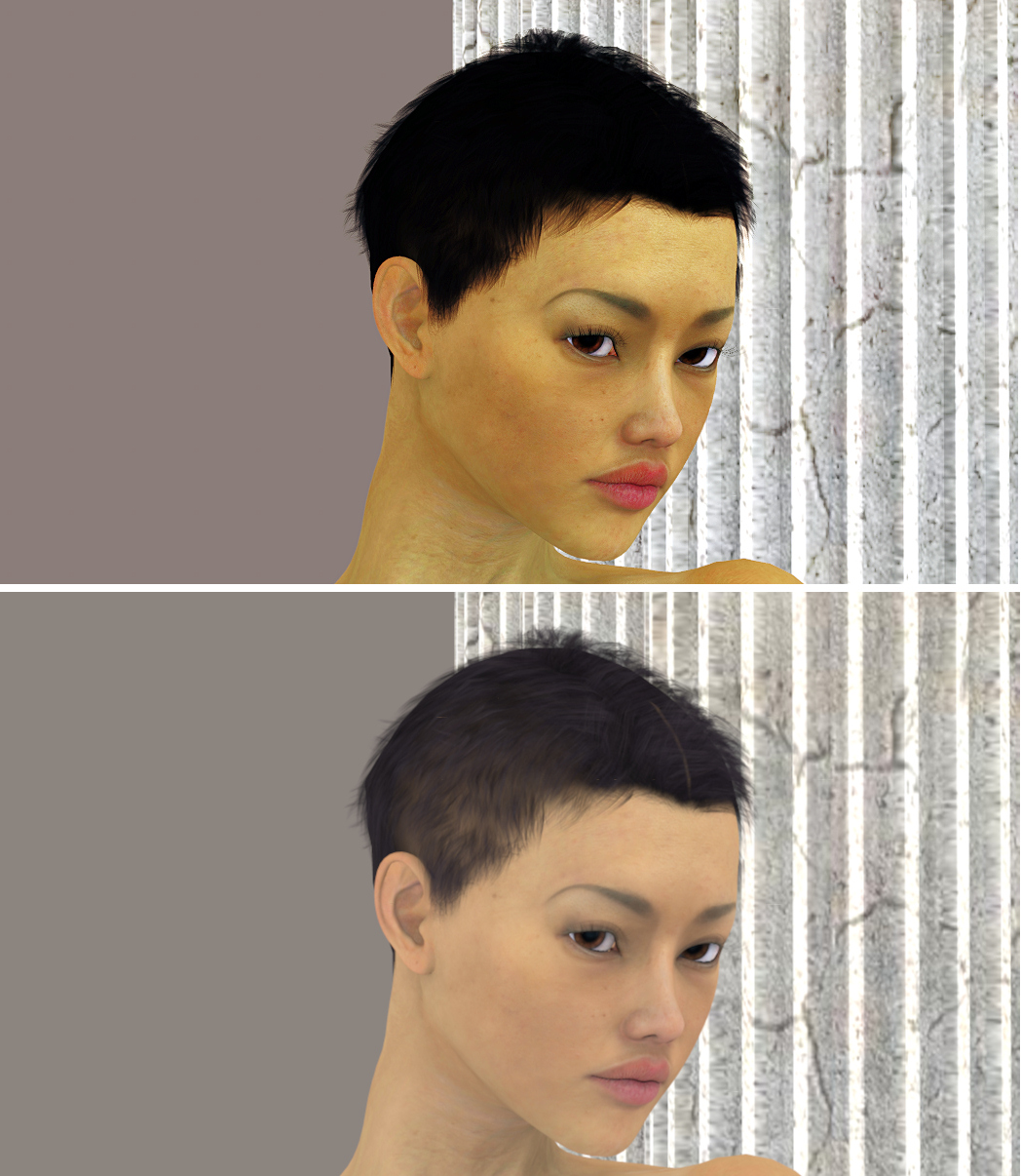 The Magic of a Poser 4 render - Part II