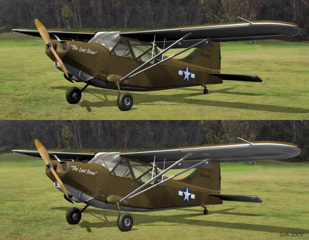 Stinson L-5, Textured (Updated)