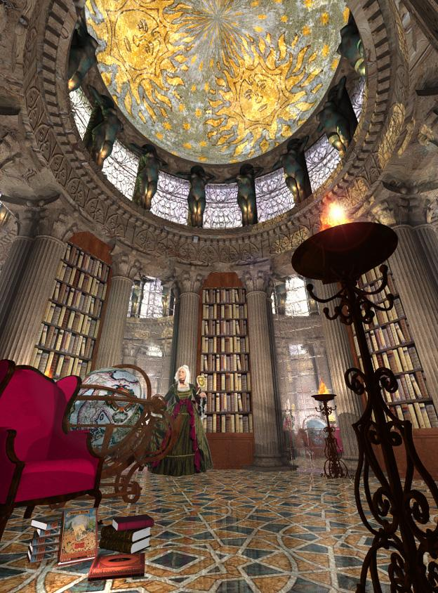 The great library.