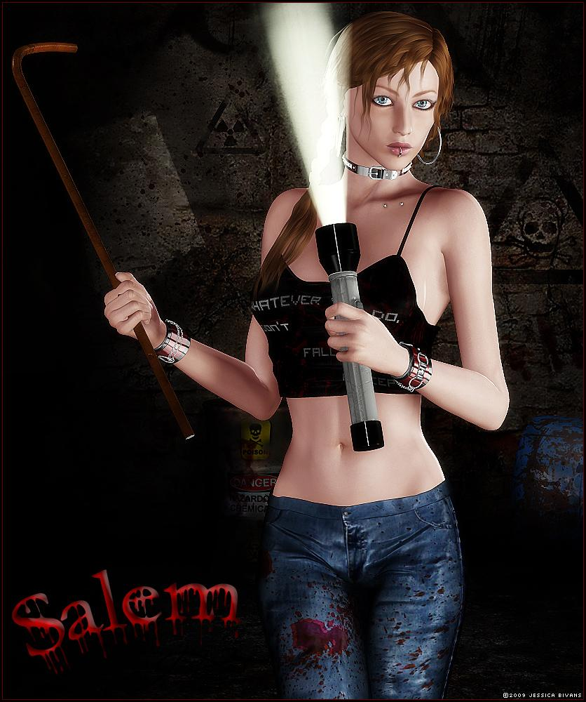 Salem - For Ladyduece by Jessaii