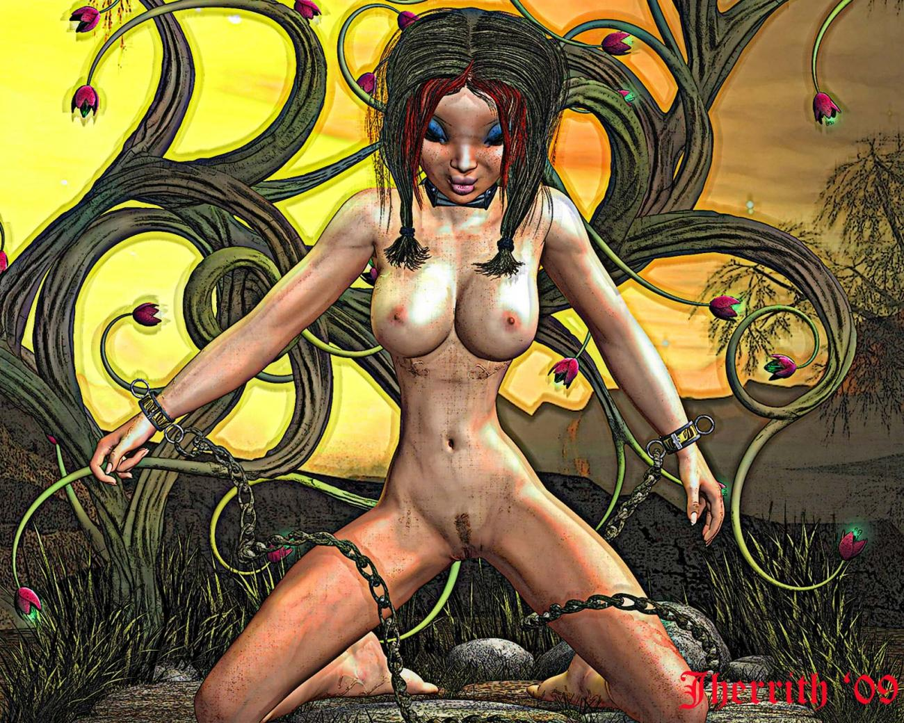 Enchained (nudity)