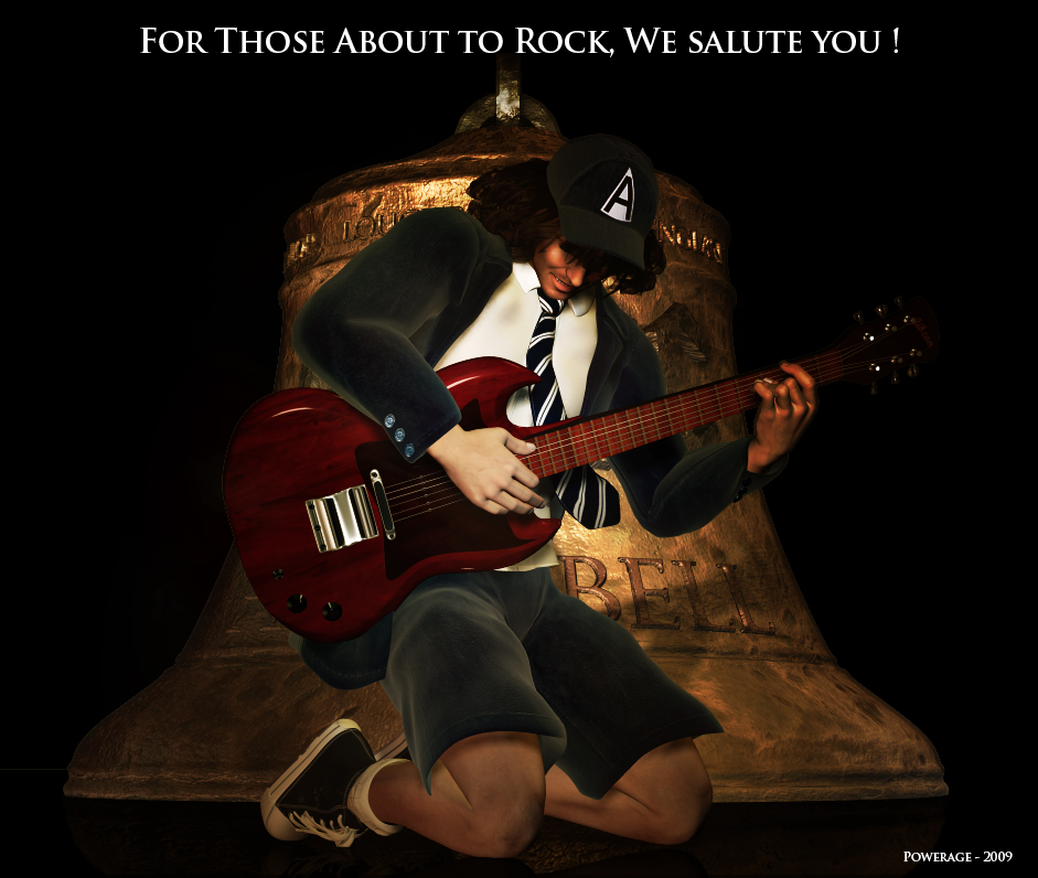 For Those About to Rock, We salute you !