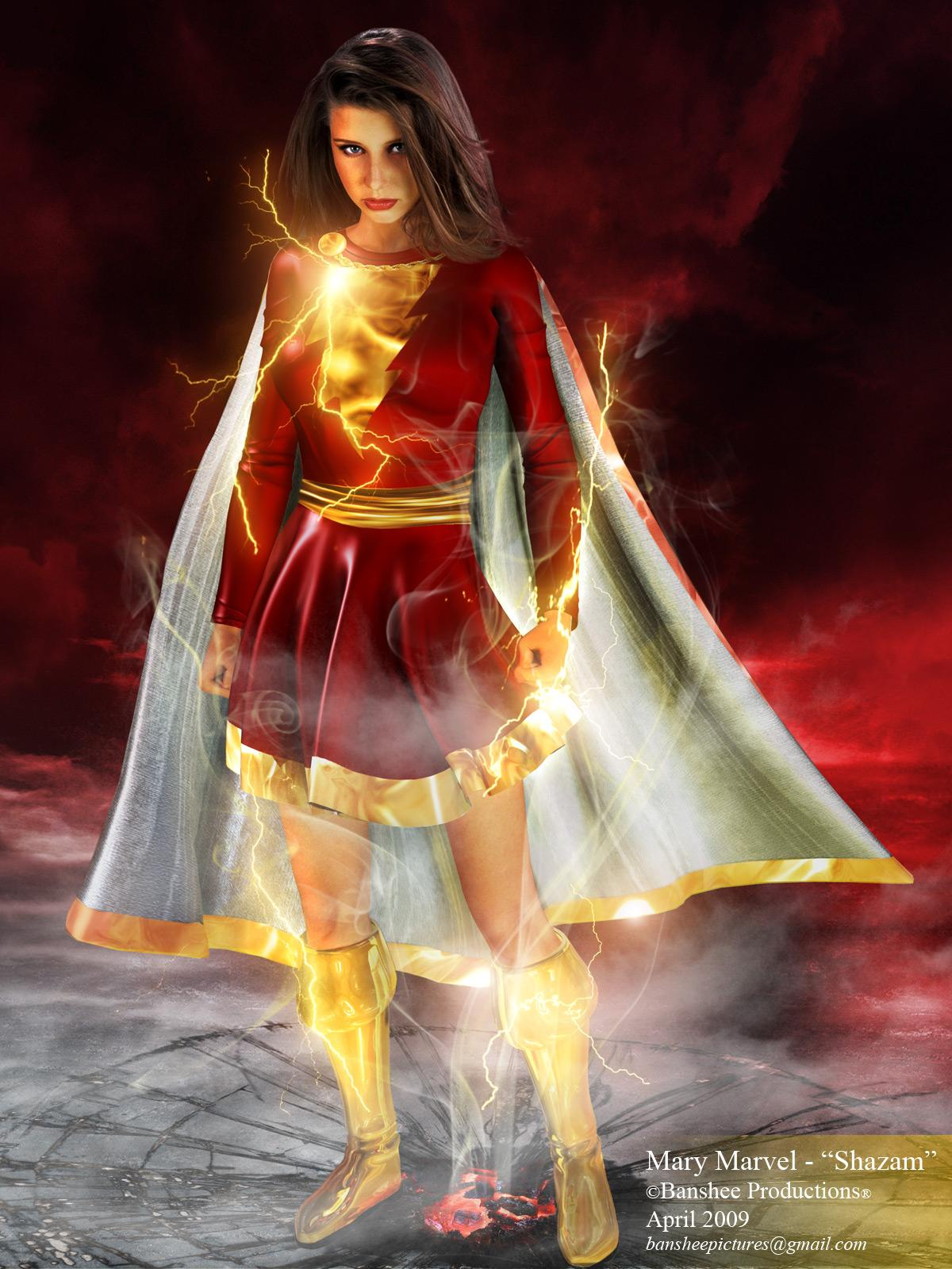 Mary Marvel-