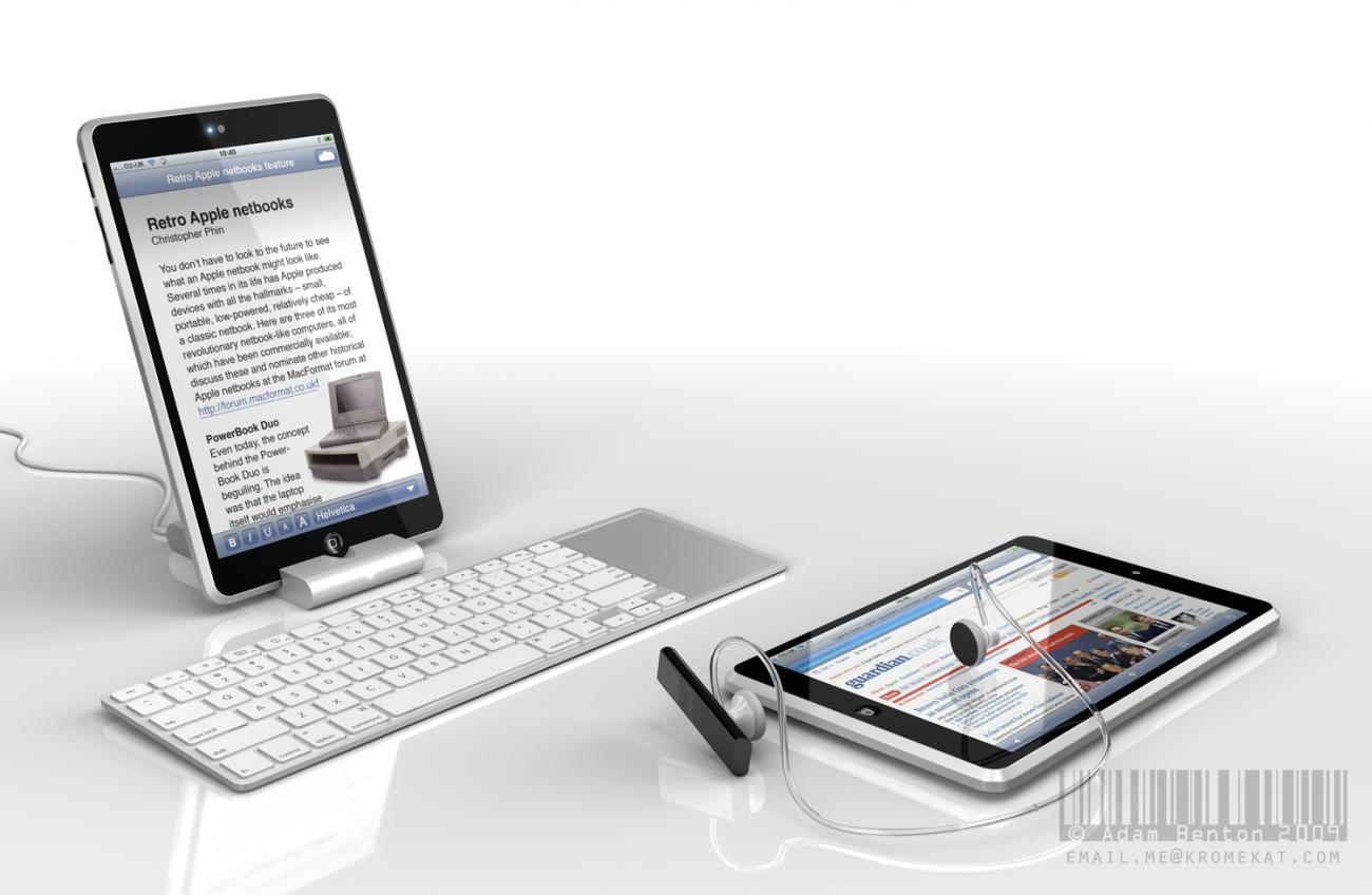 Apple NetBook concept